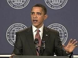 Барак Обама впервые обратился к американцам по ТВ