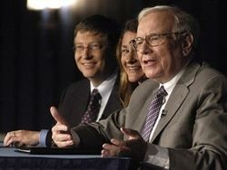 Баффет и Гейтс призвали к благотворительности