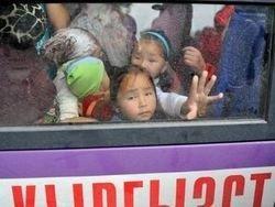 В Москву прибыл самолет МЧС с 97 беженцами из Киргизии