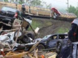 В результате крушения поезда в Австрии пострадало 200 машин