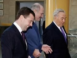 Президенты РФ, Беларуси и Казахстана обсудят формирование ТС