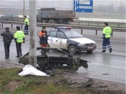 Водитель-наркоман за час совершил 9 ДТП