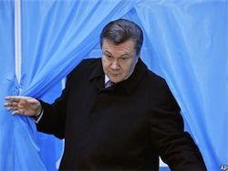 Террорист взял Януковича на мушку