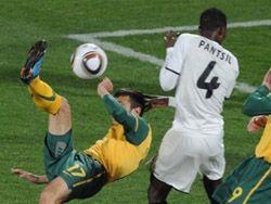 Гана сыграла вничью с Австралией на чемпионате мира