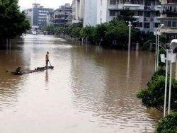 Из-за наводнения в Китае погибли 132 человека