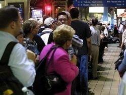 При пожаре в чикагском метро пострадали 19 человек