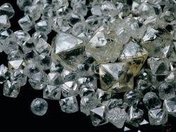 Продажи российских алмазов выросли в 1000 раз