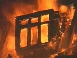 На востоке Москвы тушили крупный пожар
