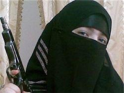 Видеообращение террористки, взорвавшей себя в м. Парк Культуры