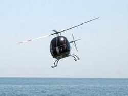 На Украине вертолет упал в Днепр