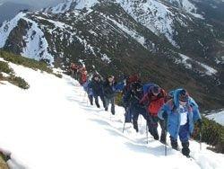 В горах Грузии пропала группа туристов