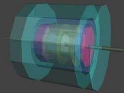Представлен проект детектора нового коллайдера