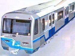 В метро начали обкатку вагонов нового поколения