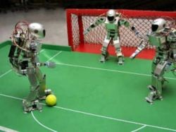 В Китае Олимпиада для роботов конкурирует с ЧМ по футболу