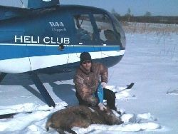 Участнику VIP-охоты с вертолета предъявлено обвинение