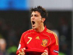 Вилья – первый испанец, не забивший пенальти по ходу игры