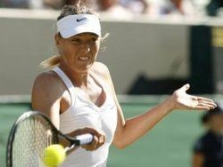 Мария Шарапова начала игру на Уимблдоне с победы