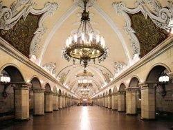 Пожар в московском метро