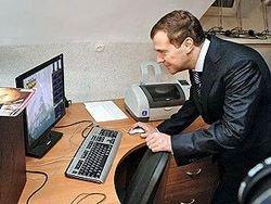 На Twitter Медведева уже подписались почти 8000 человек