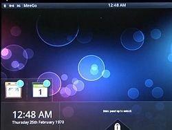 Видеодемонстрация MeeGo показала интерфейс будущего