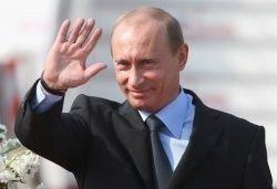 Владимир Путин в Новокузнецке