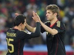 Германия сыграет с Англией в 1/8 финала ЧМ-2010