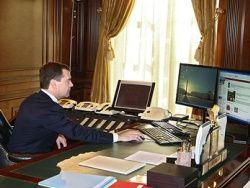 Медведев в США — блоги, деньги и iPhone