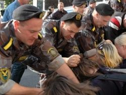 О белорусской милиции