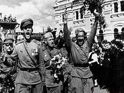 В Москве отмечают юбилей исторического Парада Победы