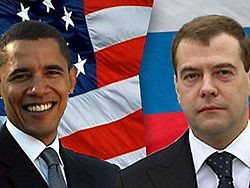Совместная пресс-конференция Медведева и Обамы