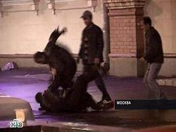 В Москве произошла массовая драка приезжих рабочих
