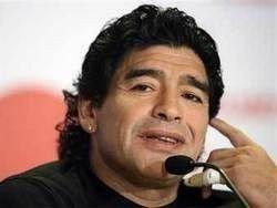 Марадона открестился от работы в России