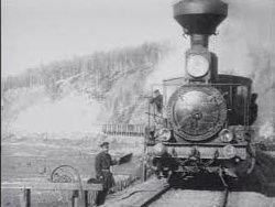Строителям первых железных дорог пришлось нелегко