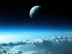 Внешние слои атмосферы Земли разрежены до предела
