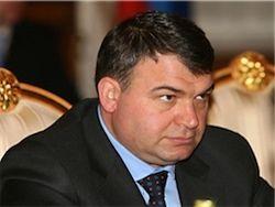 Сердюков получил пощечину