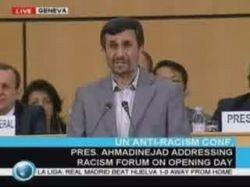 Махмуд Ахмадинежад - речь на конференции ООН