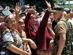 В Киргизию вернулись все беженцы