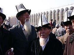 """В Киргизии \""""день тишины\"""""""