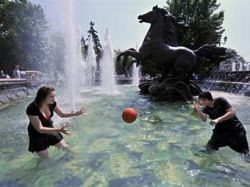 В воскресенье в Москве снова ожидается рекордная жара