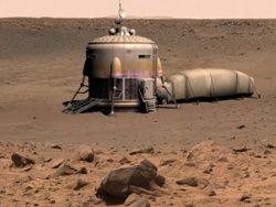 "Астрономы: Марс был \""подводным царством\"""