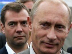 Путин и Медведева: соревнование за  лидерство