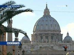 В Риме надпись на стене базилики вызвала переполох