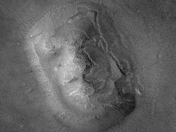 """Раскрыта тайна знаменитого \""""лица на Марсе\"""""""