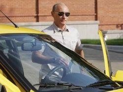 """Появились подделки \""""Лады Калины\"""", на которой ехал Путин"""