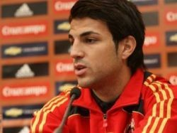 Фабрегас пропустит отборочные матчи Евро-2012 из-за травмы