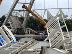 Обрушение на стадионе в Дели грозит сорвать Игры Содружества