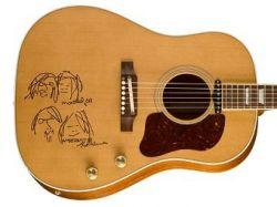 Gibson выпустит три гитары в честь Джона Леннона