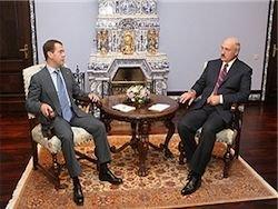 Медведев принял вызов Лукашенко
