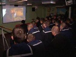 Морякам Балтийского флота показали фильм о Ярославле