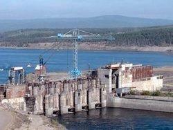 На Богучанской ГЭС произошел пожар